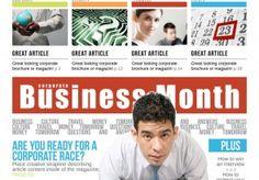 Business Week Magazine Indesign Magazine Templates, Portfolio Design, Business, Free, Portfolio Design Layouts, Store, Business Illustration