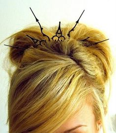 Clock Hand Hair Piece