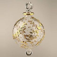 This beautiful Christmas Ornament is made in a way similar to the way it was made in ancient time which makes it a perfect collectable or gift.