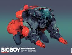 Big Boy - Block 1 and 2, Brian Sum on ArtStation at https://www.artstation.com/artwork/dDRYW?utm_campaign=notify&utm_medium=email&utm_source=notifications_mailer