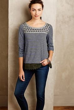 Shiloh Embroidered Top