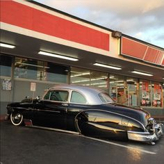 A classic Chevy business  coupe