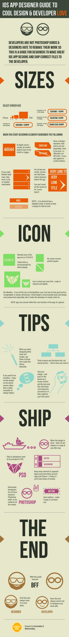 tips for iOS app designers