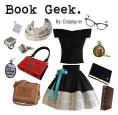 """Book Geek"" by cosplay-er ❤ liked on Polyvore featuring Olympia Le-Tan, Twelve South, Bookishly, BillyTheTree and Chicwish"