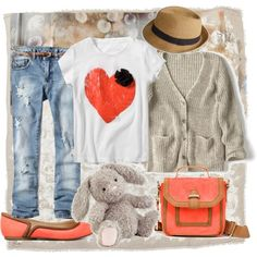 cute kids clothes from Zara.com. Especially in love with the bag and shoes!! polyvore.com marindak