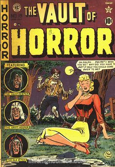 ec comics. Got a big box of horror comics from somebody when I was a kid- and the warping began.