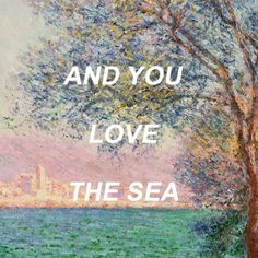 [ Antibes in the Morning - Claude Monet // Unbelievers - Vampire Weekend ]