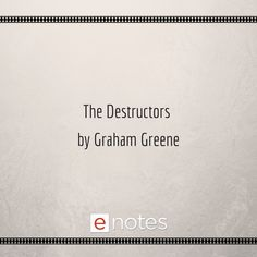 Introduction & Overview of The Destructors