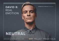 Prometheus - David 8: Real Emotion gif