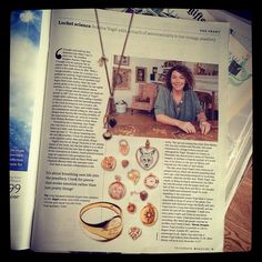 Wow, I'm in The Telegraph magazine today. My Mum would be so proud. Makes me cry. (at Annina Vogel HQ)