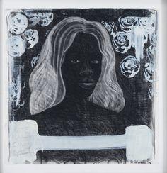 Kerry James Marshall, Untitled (Self Portrait Supermodel) @artsy