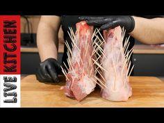 ΧΟΙΡΙΝΟ ΚΟΤΣΙ ΣΤΗΝ ΓΑΣΤΡΑ!! Κρέας που λιώνει στο στόμα! SUPER soft meat PORK SHANK LIVE KITCHEN - YouTube