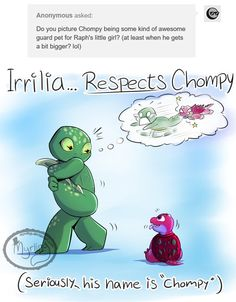 TMNT - Irrilia vs Chompy by Myrling.deviantart.com on @DeviantArt