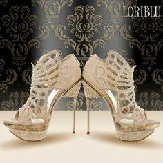 Fabulous diamond love Loriblu heels! j'adore!!!