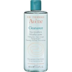 Shop for Cleanance Micellar water + instant rebate coupon by Avène Roche Posay Effaclar, Eau Thermale Avene, Micellar Water, Fragrance Parfum, Hygiene, Acne Prone Skin, Luxury Beauty, Red Lipsticks, Acne Treatment