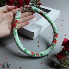 Crochet Beaded Necklace, Beaded Earrings Native, Beaded Brooch, Boho Necklace, Seed Bead Earrings, Bead Crochet, Blue Earrings, Boho Jewelry, Jewelry Trends