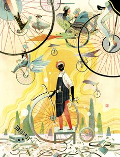 Model UpdateVicto NgaiA little late on posting this one as I... #Victo_Ngai #Illustrations #Arts