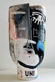 Looks Basquiat inspired.   Image result for atelier dalo