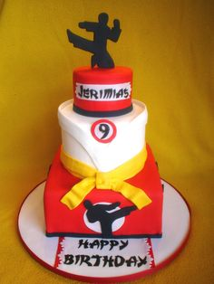 karate cake - Google Search
