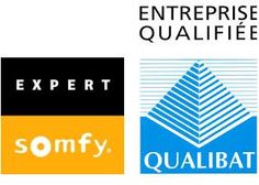Menuiserie aluminium et pvc, domotique et vitrage: expert Somfy et entreprise qualifiée Qualibat. Installation  en neuf ou rénovation.