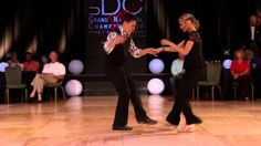 """Brennar and Autumn dance the Carolina Shag to the song """"Hey Little Traveling Man,"""" at the  Grand Nationals competition, 2014"""