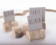 70 pieces rustic place card holders, Wedding placecard, name holdes, birch tree, for 70 dollars