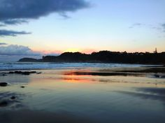 Sandy Bay Sunset Sunset, Beach, Water, Outdoor, Image, Sunsets, Water Water, Outdoors, Seaside