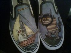 Where the wild things are Van's shoes