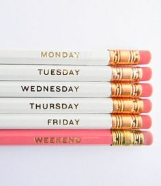 the best pencils we've ever seen.  want to use them at work right now.