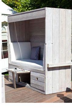 Im Sommer möchten Sie im Garten sitzen? Das kann mit diesen 10 selbstgemachten Gartenmöbeln! - DIY Bastelideen