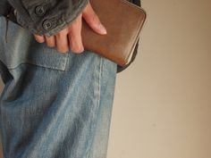 Wallet And Jacket, Christian Peau