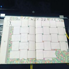 """26 Likes, 3 Comments - BuJo (@bujo_works) on Instagram: """"Just finished my June at a glance! Another basket weave, this time with some added colour #BuJo…"""""""