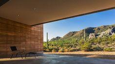 Modern wonen middenin de woestijn