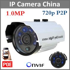 24.99$  Buy here - http://ali7ri.shopchina.info/go.php?t=32812571929 - HD 720P 1.0MP ONVIF Outdoor Waterproof IP66 IP Camera Network Camera With Night vision Support POE CCTV System 24.99$ #aliexpressideas