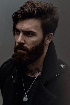 Best Beard Styles Of The Year - trend my world Medium Length Hair Up, Long Hair Cuts, Great Beards, Awesome Beards, Wavy Layered Haircuts, Medium Hair Styles, Short Hair Styles, Wedding Curls, Beard Tips