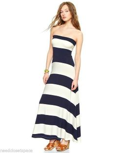 Gap Striped 4-in-1 Dress