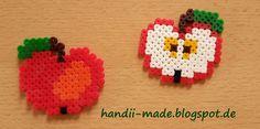 handii made: Apfel aus Bügelperlen