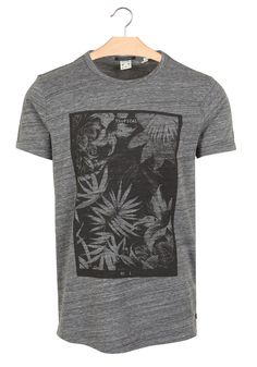 Tee-shirt sérigraphié Noir by SCOTCH AND SODA