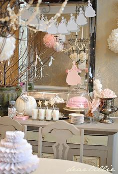 Baby Shower Side Table
