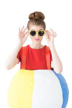 How To Make A Beach Ball Costume | studiodiy.com