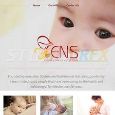 Sample Website Design For ENS Visit www.StudioGrfx.com to view my portfolio  #website #websitedesign #graphicdesign #graphiic #studiogrfx
