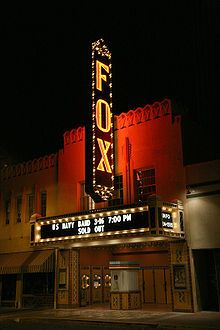 The recently restored Fox Theater is in downtown Tucson.