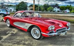 American classic and muscle cars with corvette engine options 1956