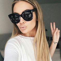 MADELINY Novo Gradiente de Moda Cat Eye Sunglasses Mulheres Marca Designer Vintage Cat Eye Shades Óculos de Sol Para As Mulheres UV400 MA216