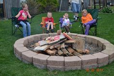 The Burk Family: Family Fire Pit!!!!!