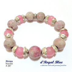 #pink #bracelet #gelang #statementbracelet #accessory #accessories #handmade #handmadeaccessories #handmadebracelet #bead #beads #stones #semiprecious #aksesoris #aksesorisjilbab #aksesorishijab #batu
