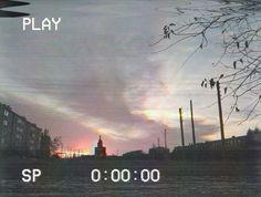 #vhs #sunset