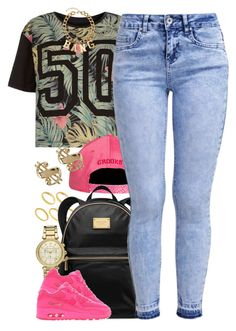"""""""Untitled #1359"""" by power-beauty ❤ liked on Polyvore featuring ASOS, MICHAEL Michael Kors, Michael Kors, New Look, NIKE and H&M"""