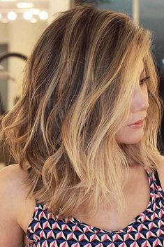 You should not be afraid of a long bob, since there is no way it will fail you! The list of options is super versatile and the trick is that they suit all! #haircuts#hairstyle#haircolor