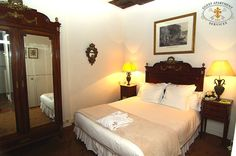 The master bedroom is located on the courtyard side, very quiet and calm